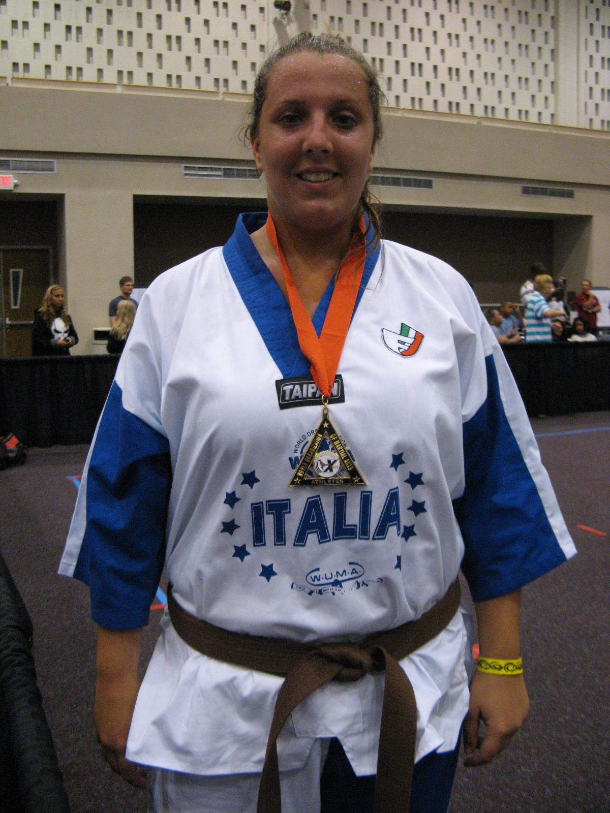 Speringo Barbara campionessa mondiale 2009