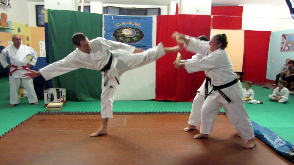 Maestro Di Donato Davide Karate CAAM Milano