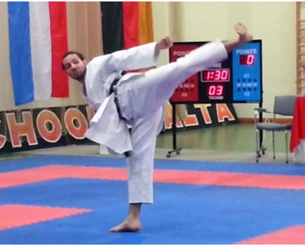 Fruner Hermann Campione di Karate