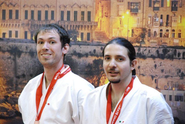 Cinture Nere Campioni Karate del CAAM Milano