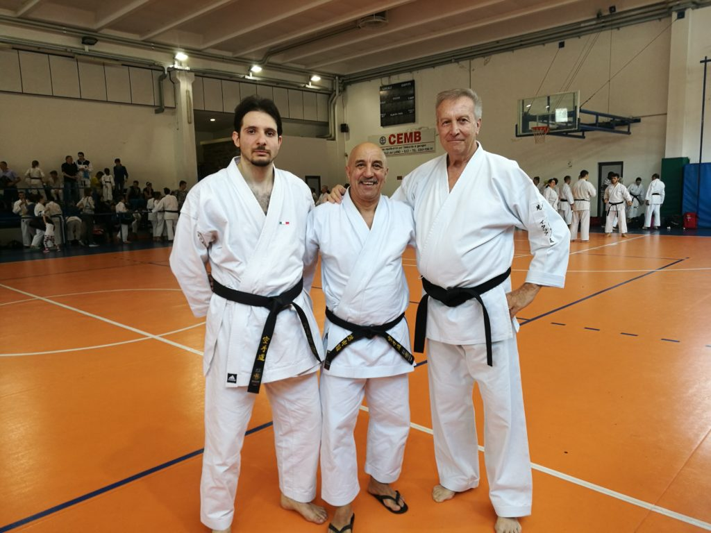 Maestri Karate Fruner, Terzulli e Corbella FEIKAR