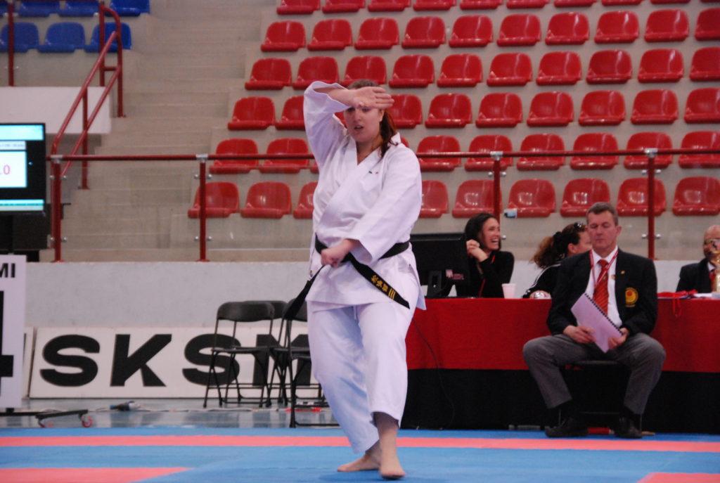 speringo Barbara campionessa internazionale di karate