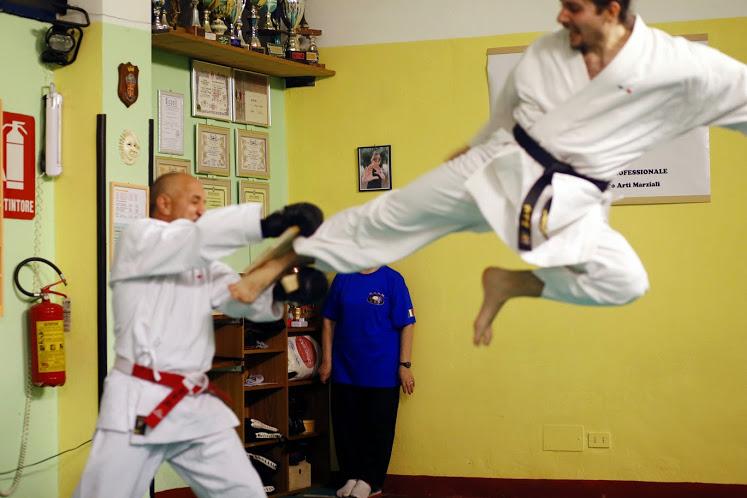 Maestro Fruner Hermann Karate CAAM Milano