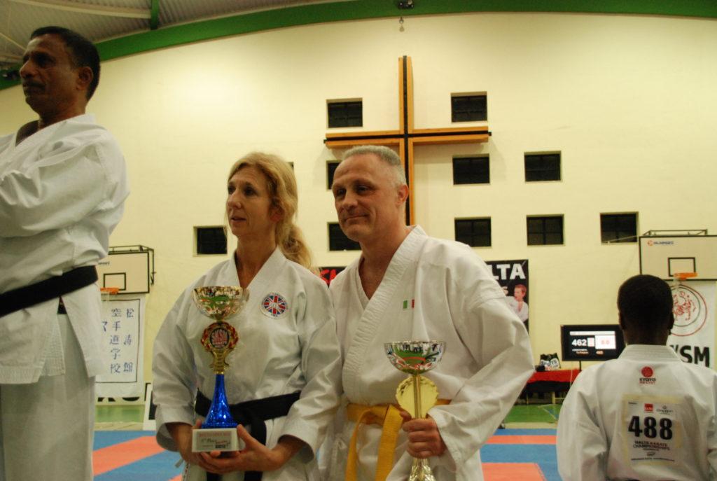 Sekules Andrea campione Karate Kata