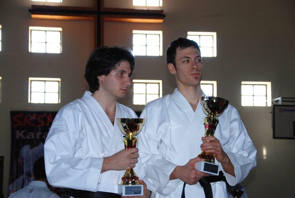 Di Donato e Fruner campioni di kata a coppia