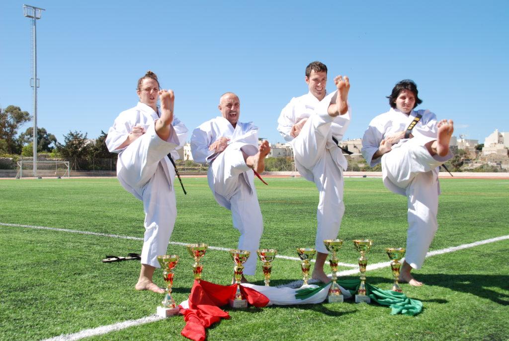 Dojokun Maestri di Karate CAAM MILano