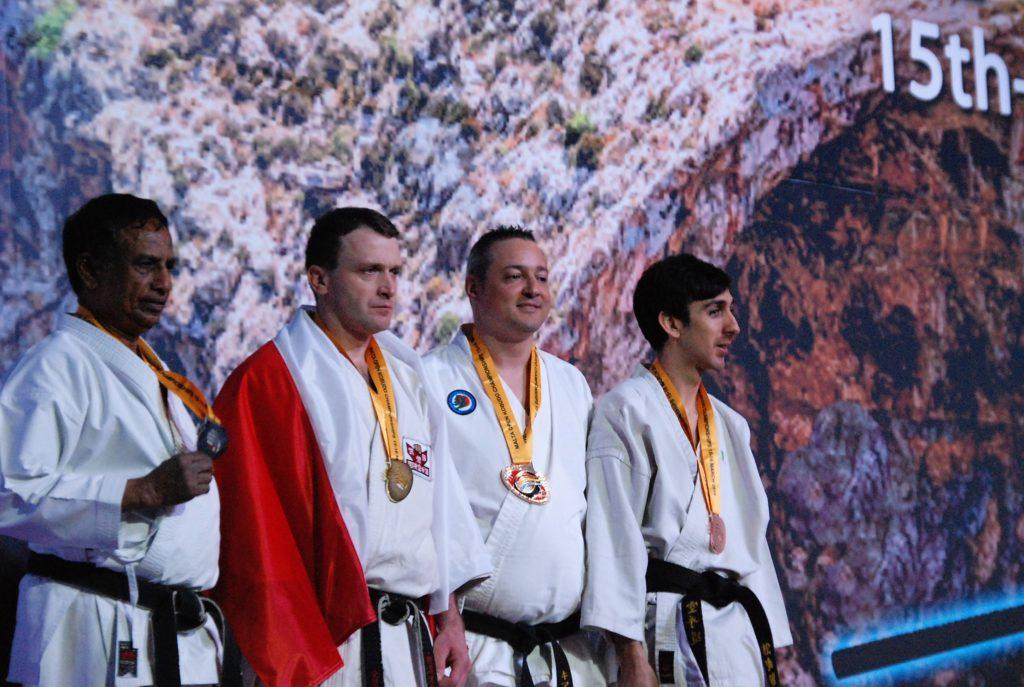 Mitani Andrea Karate CAAM Milano campione kata