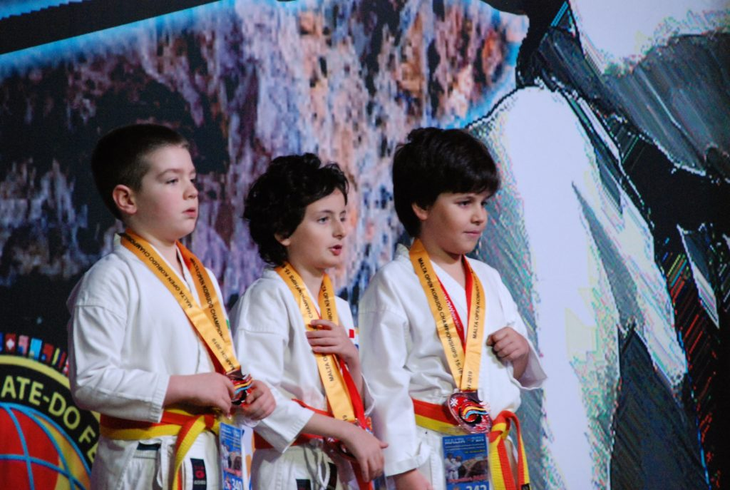 squadra karate caam bambini campioni internazionali