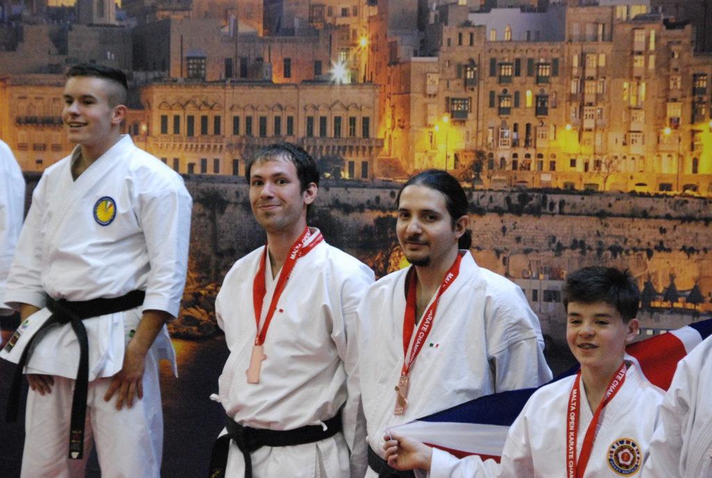 Di Donato Davide e Fruner Hermann campioni di Karate Kata