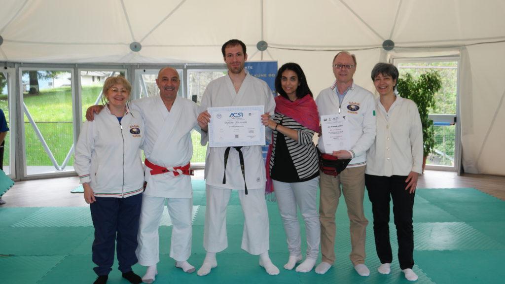 Maestro Di Donato Davide 4° dan di karate