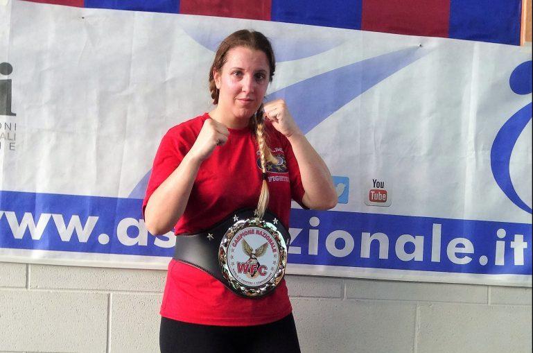 kickboxing Milano campionessa speringo
