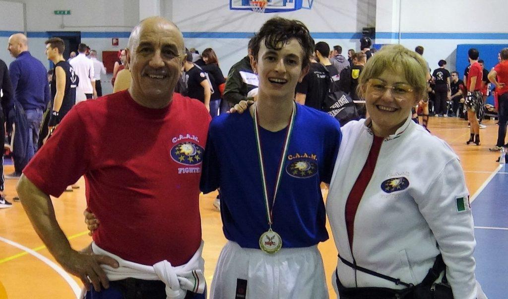 campione kickboxing Milano Maitti Simone