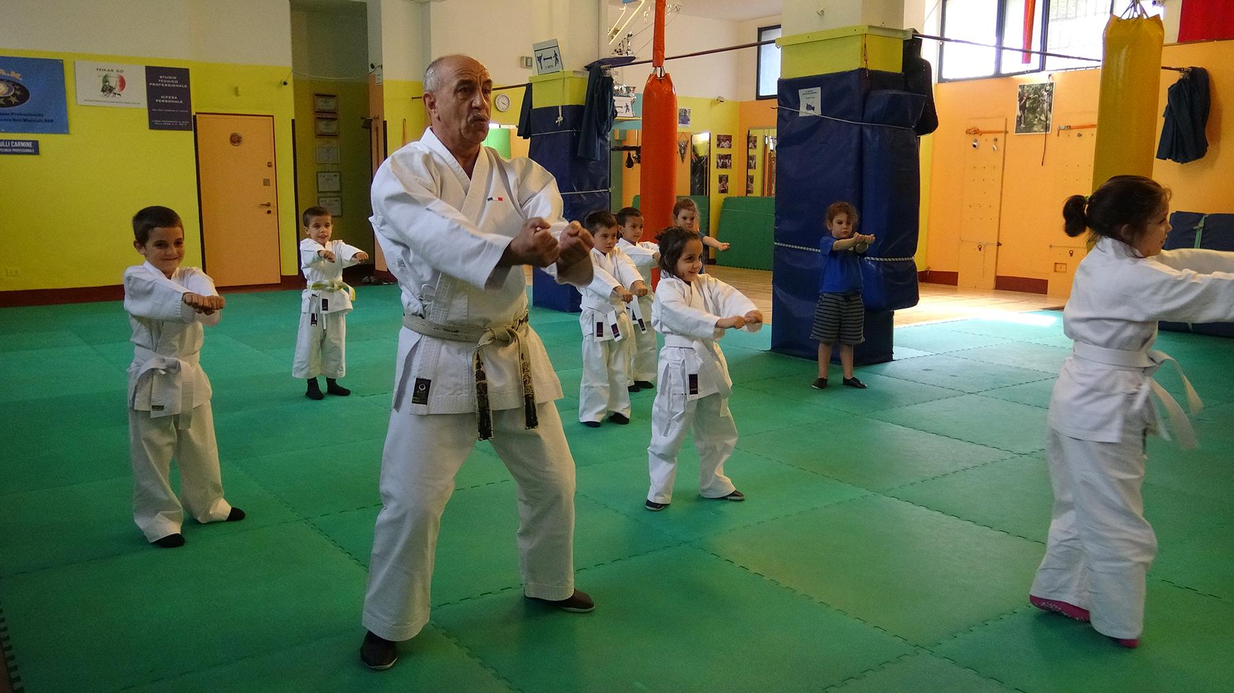 karate per bambini milano