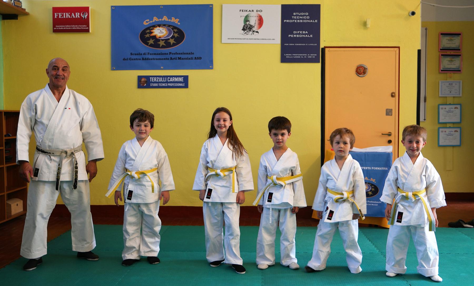 karate bimbi milano